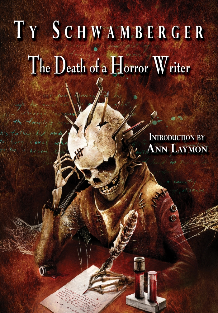 THE DEATH OF A HORROR WRITER_cover