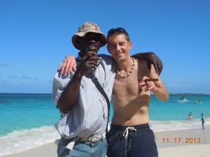 Ty buys Cuban Cigars in Bahamas
