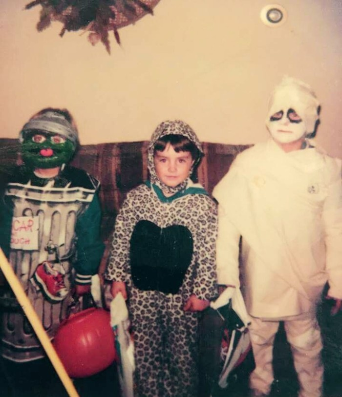 Ty Halloween Pic 1983