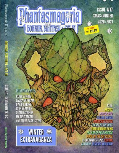 Phantasmagoria Magazine cover
